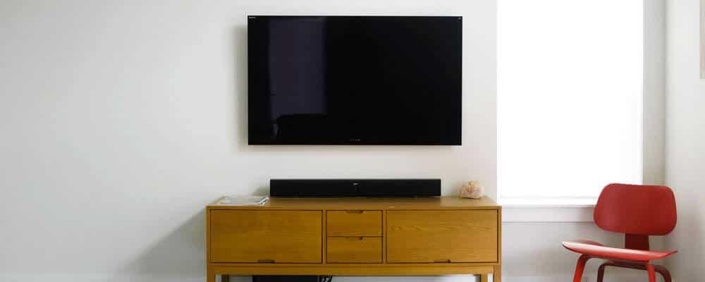 Wall-Mounted-TV