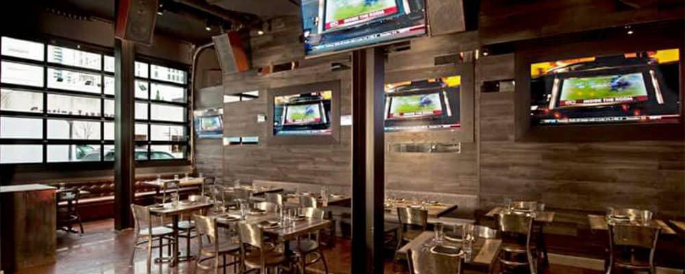 Restaurant Audio & Video Enhances Atmosphere